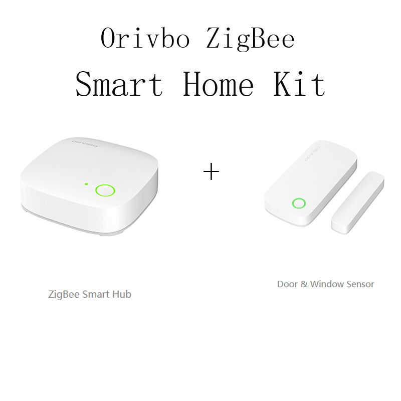 orvibo zigbee smart home system automation door sensor window sensor wifi wireless internet. Black Bedroom Furniture Sets. Home Design Ideas