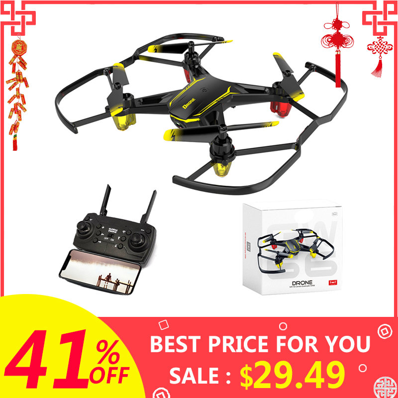 <font><b>Drone</b></font> GW66 <font><b>Mini</b></font> <font><b>Drone</b></font> <font><b>FPV</b></font> <font><b>Drones</b></font> with Camera RC Helicopter Quadcopter Remote Control Quadrocopter Dron Toys For Children #ED image