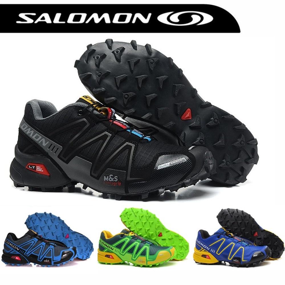 Salomon Speed Cross 3 CS Men Outdoor Sport Shoes Breathable Sneakers zapatillas Hombre Male Speedcross 3 Fencing Shoes