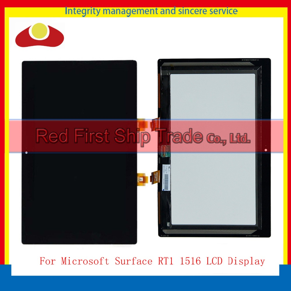 10.6'' Digitizer Touch Screen Glass Panel Lens For Microsoft Surface RT1 1516 LCD Display Panel Screen Monitor Assembly for microsoft surface pro 4 assembly lcd displays screen touch screen
