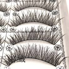 SHIDISHANGPIN 1 box eyelashes natural long synthetic hair lashes hand made eyelash extension 1cm-1.5cm faux cils maquiagem L2