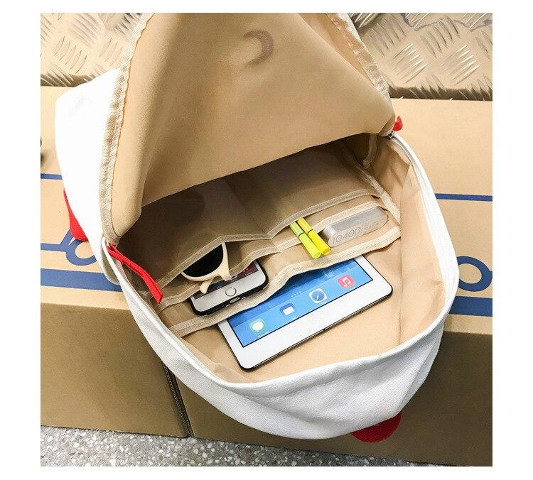 lona mochila viagem feminina bolsa feminina saco