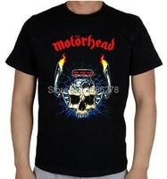 Summer 2014 Mens Custom T Shirts Motorhead Music Rock Band Printed T Shirts Cotton Man Fashion
