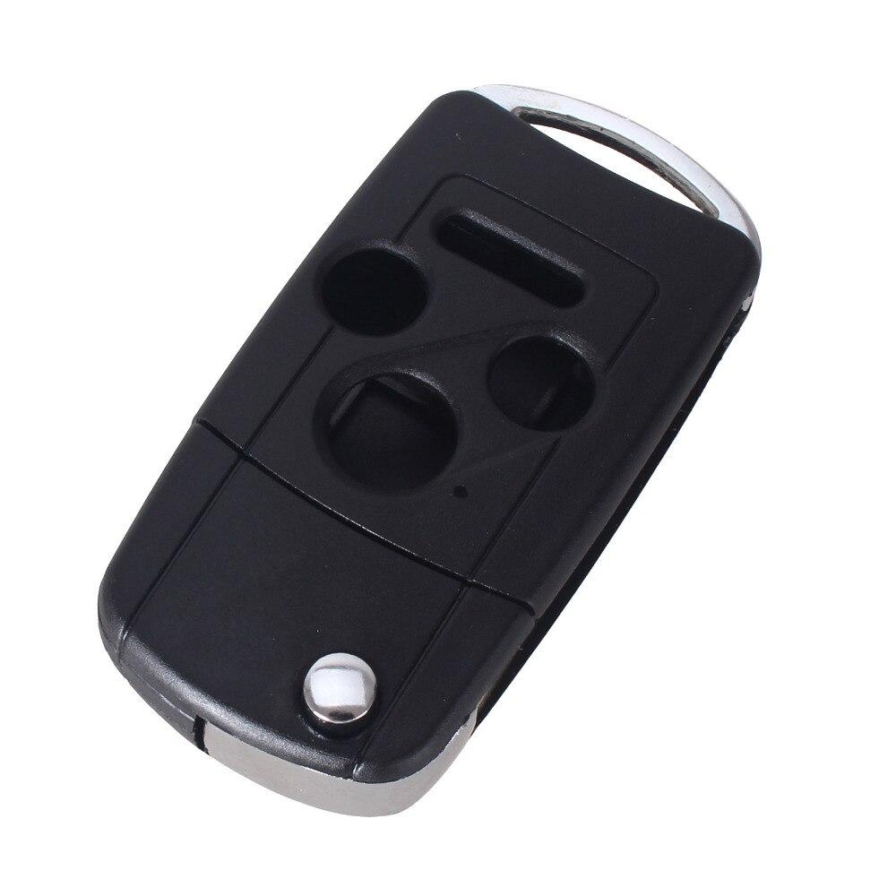 Chiave Telecomando per Honda Accord Civic Pilot CR-V Modified Key Case 4 Button 1