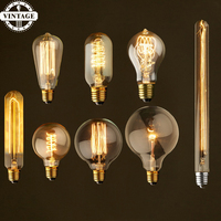 LightInBox 2pcs 40W E27 220V For Decor A19 Lampada Vintage Light Ampoules Decoratives Bombilla Edison Bulb Retro Lamp