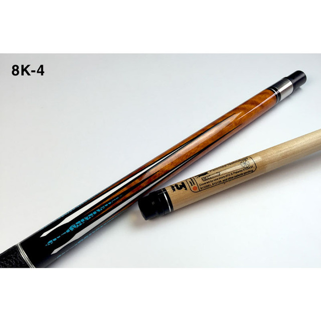 NEW 8K4 China Billiard Pool Cues Stick 11.5mm 12.75mm Tip 8 Pieces Wood Laminated Technology Shaft 2018 2
