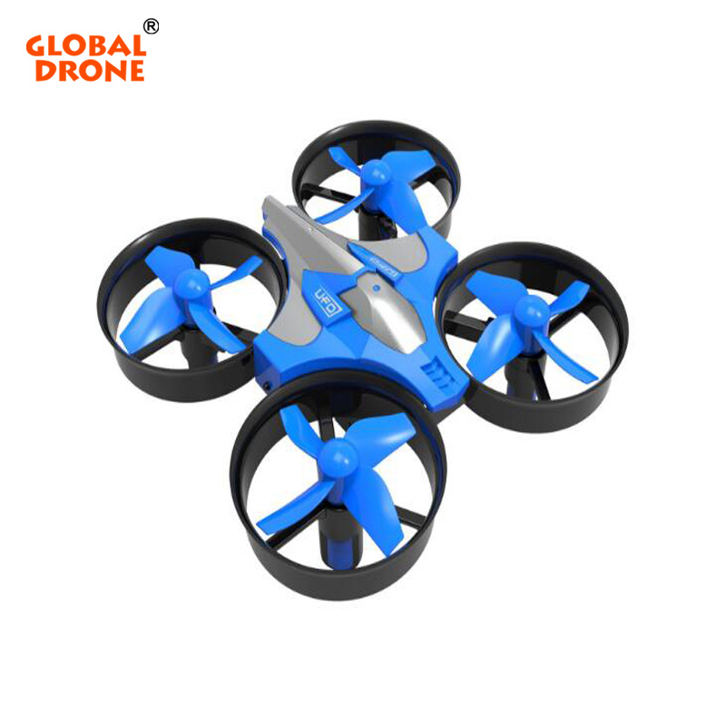 Global Drone Mini Drone RH807 6 Axis Gyro 2.4GHz 360 Degree Flip One Key Return RC Helicopter Headless Mode Dron Toys Gifts