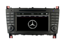 7-inch Car DVD Player GPS Navigation System For Mercedes-Benz CLK W209 (2004-2011)