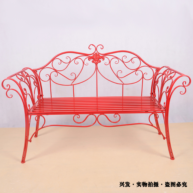 Superb Us 172 0 Manufacturers Continental Iron Chairs Outdoor Furniture Sofa Bed Long Double Chair Park Benches Leisure Chair In Patio Benches From Ibusinesslaw Wood Chair Design Ideas Ibusinesslaworg