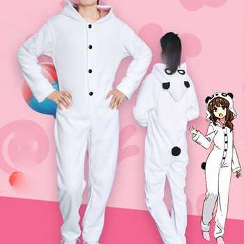 Seishun Buta Yarou wa Bunny Girl Panda Pajamas Senpai no Yume wo Minai Azusagawa Kaede Cosplay Costume Sleepwear Jumpsuit Unisex - DISCOUNT ITEM  0% OFF All Category