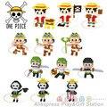 Animado de una Pieza Figuarts Zero Monkey D. Luffy Figura PVC Nuevo Mundo 2 Años Más Tarde Colección Modelo de bloques de Construcción de Juguete de Regalo