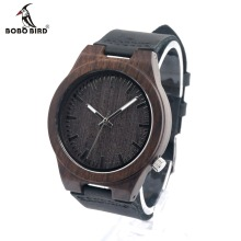 BOBO BIRD Men's Wood Bamboo Wristwatch Antique Unique Design Men Top Brand Wooden Bamboo Wrist Watches