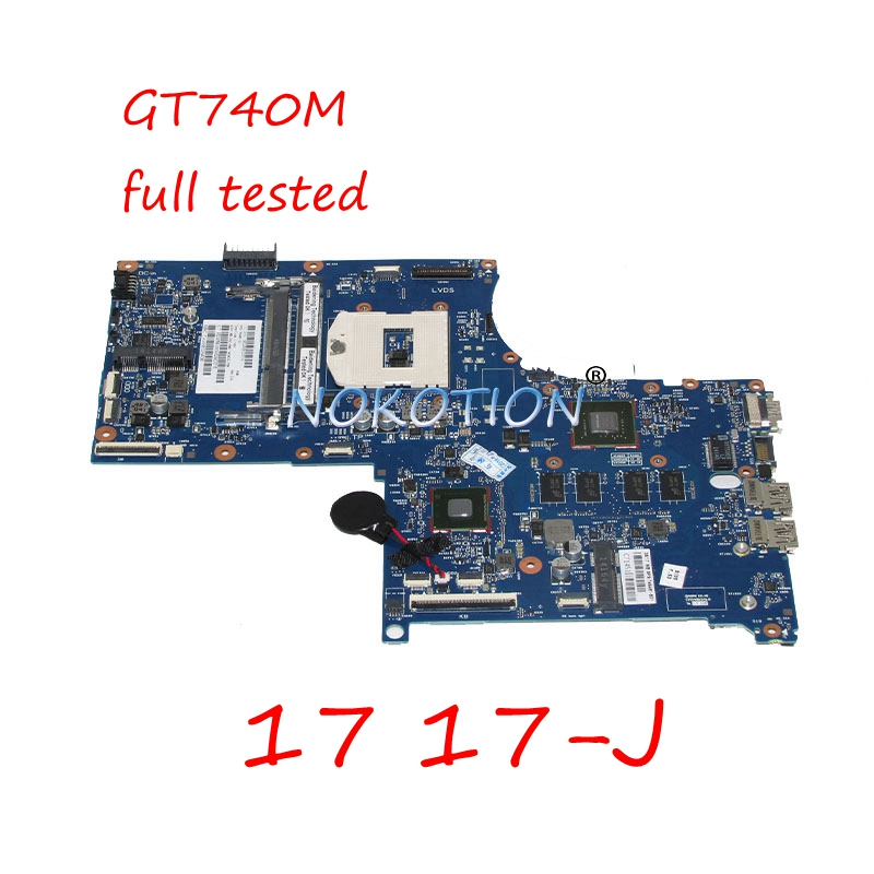 NOKOTION 746451-501 746451-001 720266-501 720266-001 laptop motherboard For HP envy 17 17-J GT740M 6050A2549801-MB-A02 Mainboard nokotion 746017 001 746017 501 for hp probook 645 655 g1 laptop motherboard ddr3 6050a2567101 mb a02