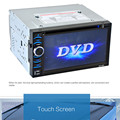 6.5 Double 2DIN Touch Car Stereo CD DVD Player Bluetooth USB SD AM FM TV Radio dec 27