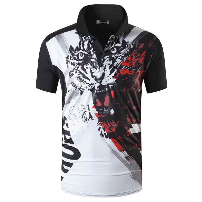 jeansian Men's Sport Tee Polo Shirts Poloshirts Casual Wear Golf Tennis Badminton Dry Fit Short Sleeve LSL263