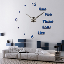 Modern Colorful Acrylic Quartz Wall Clock for Home Decor
