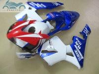 OEM Injection fairing kit fit for Honda CBR600RR 03 04 CBR 600 RR 2003 2004 ABS fairing kits blue white red bodywork NY16