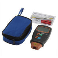 SDFC 1set High Quality Digital Laser Tachometer RPM Meter Non Contact Motor Speed Gauge Revolution Spin