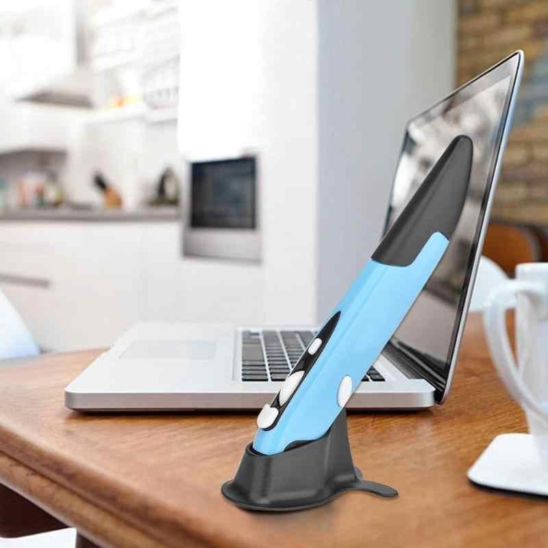 Universel 2.4GHz sans fil USB optique stylo souris réglable 1600DPI 4 clés souris pour PC Smart TV décodeur ordinateur Promotion