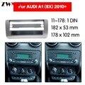 Автомобильный dvd-плеер рамка для AUDI A1 (8X) 2010 + 1DIN Авто радио мультимедиа NAVI fascia