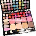 72 cores de sombra Lip Gloss Blush cosméticos maquiagem escova paleta