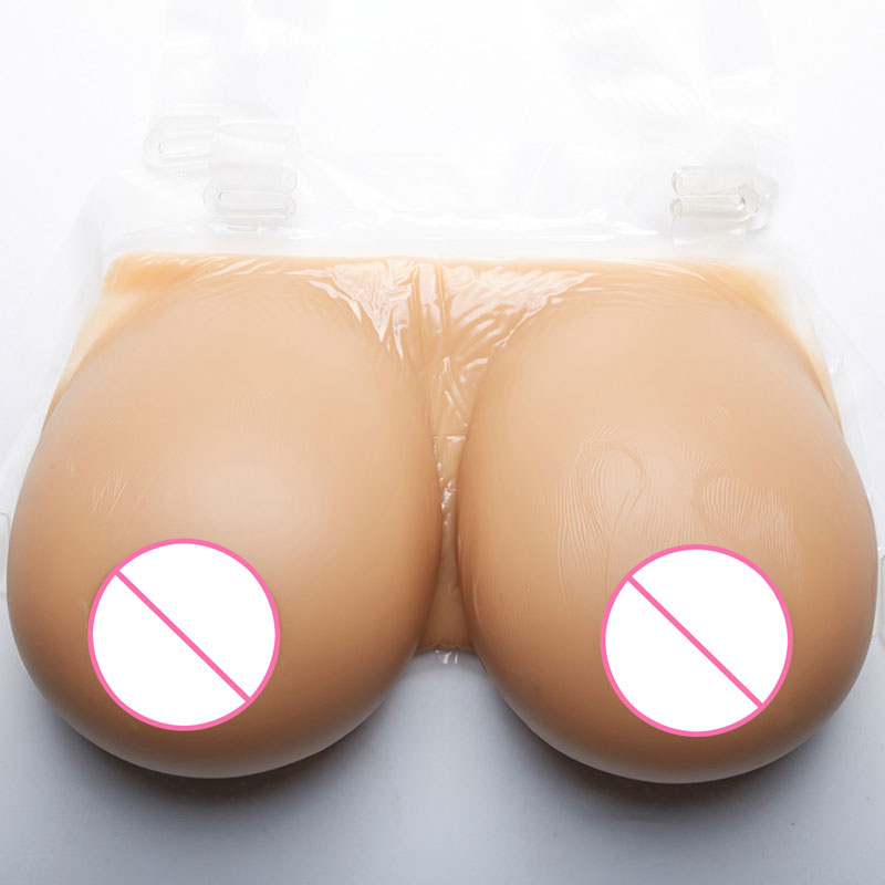 Image 4 - Realistic Silicone False Breast Forms Tits Fake Boobs For Crossdresser Shemale Transgender Drag Queen Transvestite Mastectomy