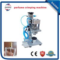 Factory direct sales High Quality Perfume Cap Corking Machine ,cap head 15mm/17mm/20mm/22mm for option