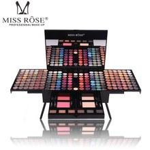 MISS ROSE Professional Eye Shadow Palette Waterproof Shimmer Matte Eyeshadow Glitter Mineral Powder Artist Makeup