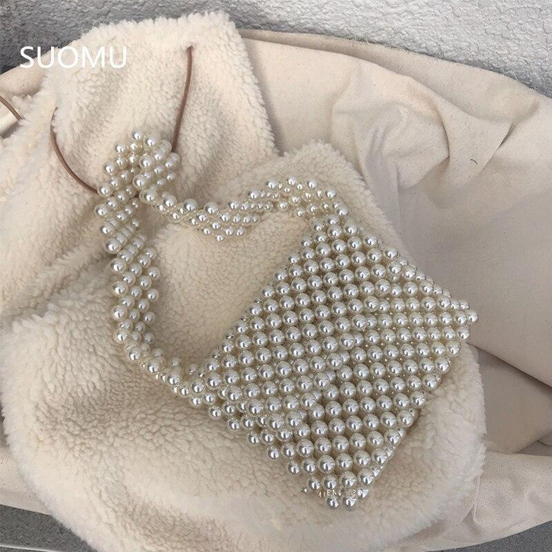 Acrylique perles sac perlée sac à bandoulière femmes parti vintage rétro en plastique sac à main été nouveau mignon rabat sac en gros