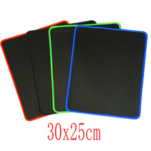 4pcs 30x25cm colorful lockrand Gaming Personalized Internet Cafes Durable Mouse Pad Mat Comfort Mice Pads