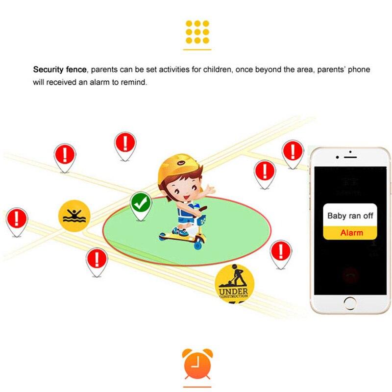2019 Q90S Waterproof GPS Child Smart Watch Phone Position Children Watch 1.3 inch Color Touch Screen WIFI SOS Smart Baby Watch