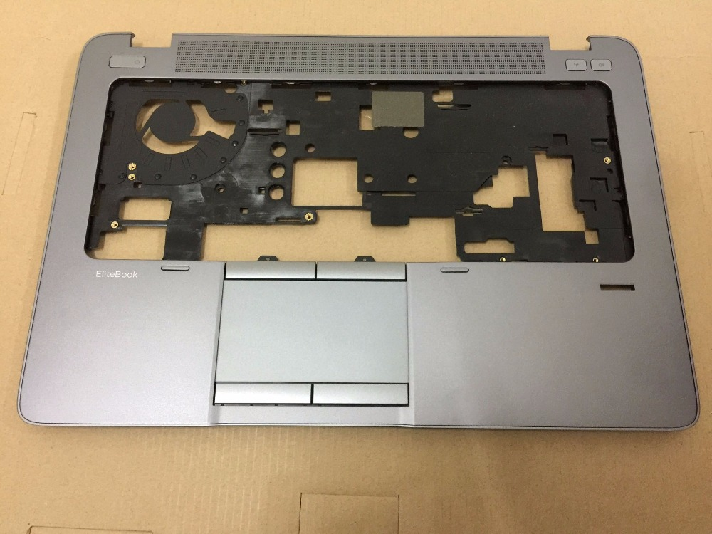 For HP For EliteBook 840 G1 840 G1 Palmrest Top Cover Upper Case Shell with Touchpad 730964-001 6070B0676601 цены