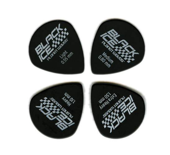 d 39 addario planet waves duralin black ice guitar pick jazz shape 1 pick in guitar parts. Black Bedroom Furniture Sets. Home Design Ideas