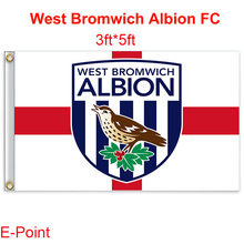 England West Bromwich Albion FC decoration Flag B 3ft*5ft (150cm*90cm)