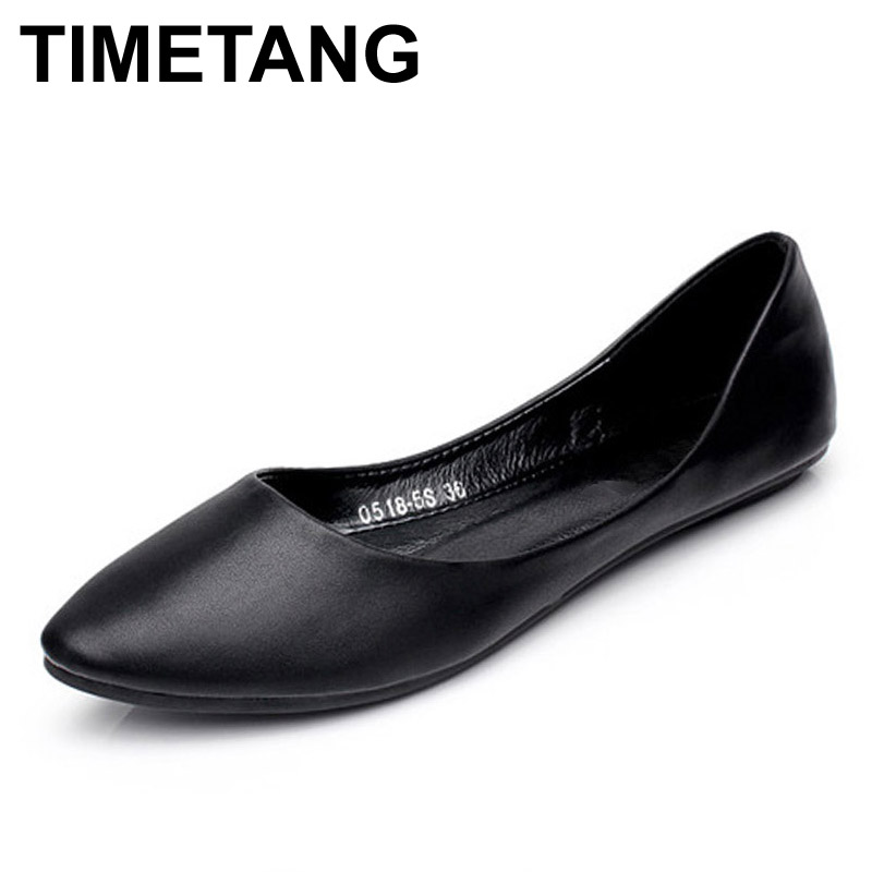 TIMETANG new 2017 fashion high quality vintage women flat shoes women flats and women's spring summer autumn shoes dreamshining new fashion women colorful flat shoes women s flats womens high quality lazy shoes spring summer shoes size eu35 40