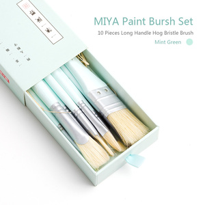 Image 5 - MIYA 10 sztuk zestaw pędzli artysty włosia włosów akwarela obraz olejny akrylowy pędzle dostaw sztuki