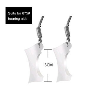 Image 2 - 100PCS BTE Hearing Aid Protective Sleeves Holder Cover Jacket Protect Hearing Aids Against From Falling Off