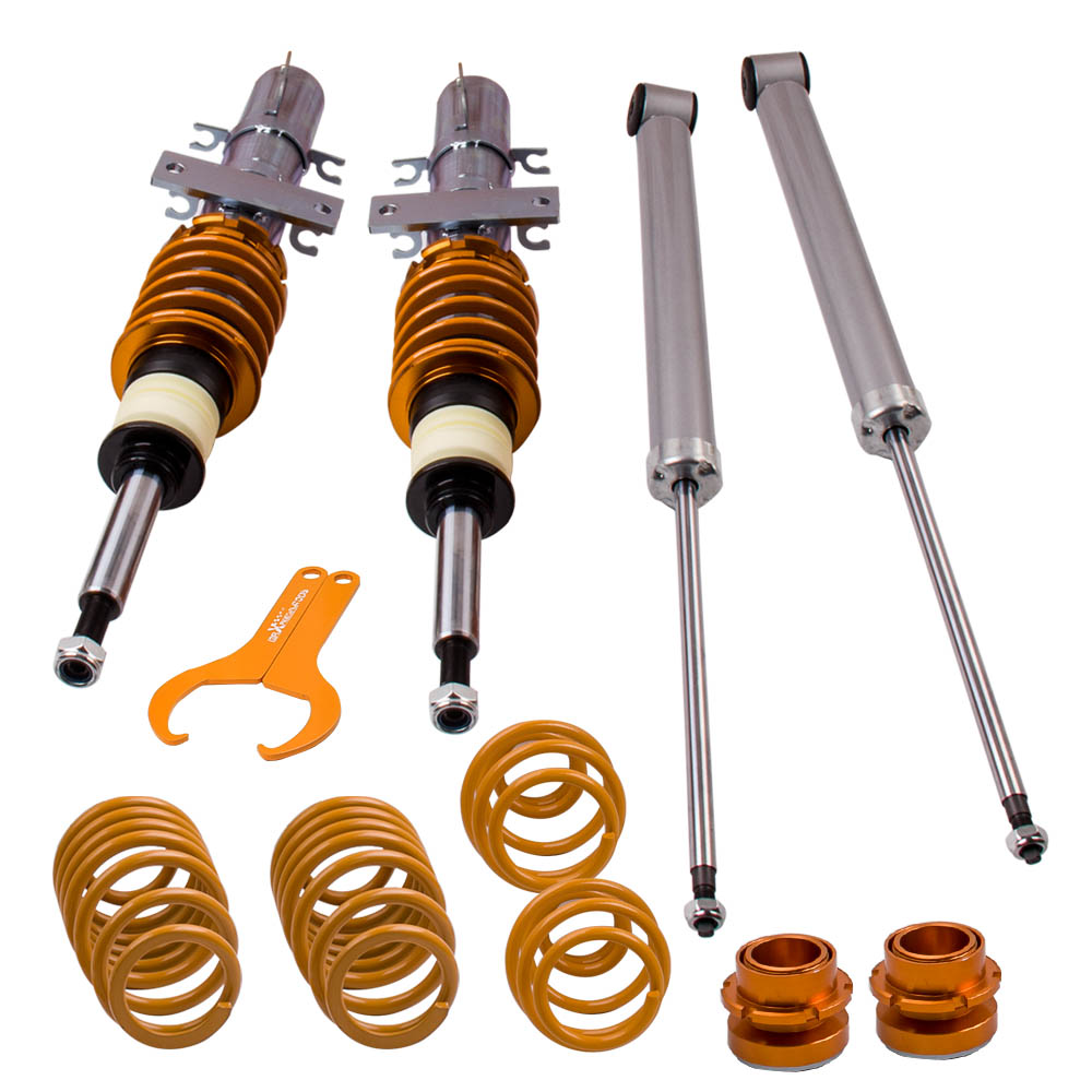 Coilover Suspension Kit for VW Polo 9N /Fox 1.2/ 1.4/ 1.6/ 1.8T & 1.4 TDi/ 1.9SDi/ 1.9TDi For SEAT Ibiza Mk3 Typ 6L 2002 2008|Shock Absorber& Struts|Automobiles & Motorcycles -