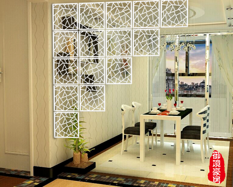 Wood Room Divider Fashion Hanging Screen Partition Bedroom Wall Post Entry Living Home Decoration Size 3939 Cm In Screens Dividers From
