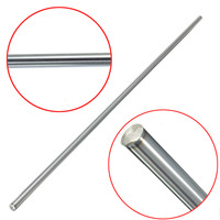 1pc Linear Shaft Optical Axis Outer Diameter 8mm X 500mm Cylinder Liner Rail Linear Shaft Optical