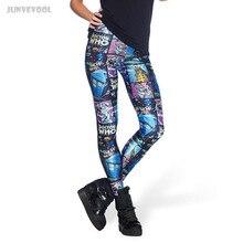Leggings Women 2017 Women's Fashion Pants Robot Poster Printd Women Colorful Capris Skinny Trousers Very Comfortable Plus Size