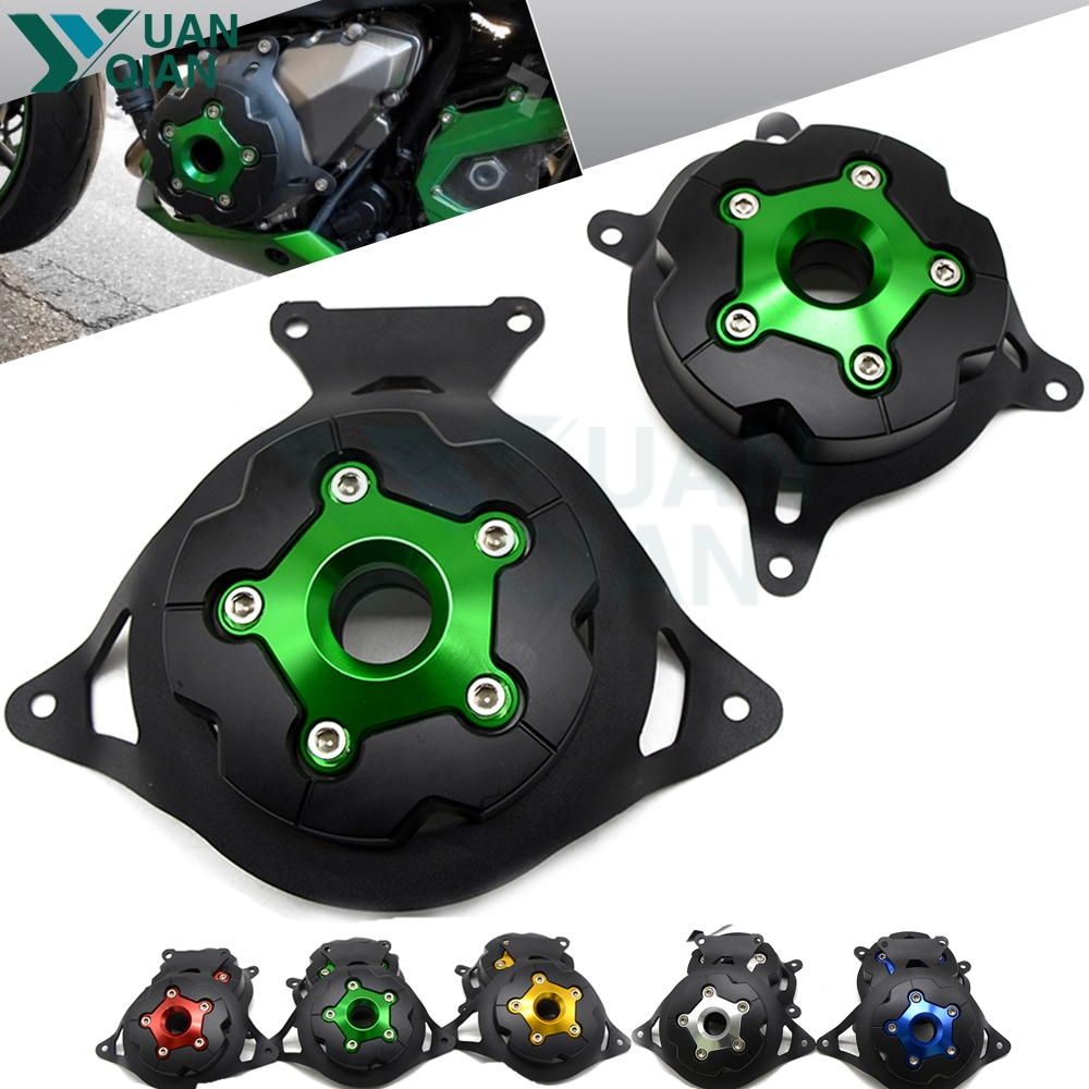 For Kawasaki Z750 08-16 Z800 13-16 Motorcycle Engine Stator Cover Engine Guard Accessorie Protection Motor Frame Slide ProtectorFor Kawasaki Z750 08-16 Z800 13-16 Motorcycle Engine Stator Cover Engine Guard Accessorie Protection Motor Frame Slide Protector