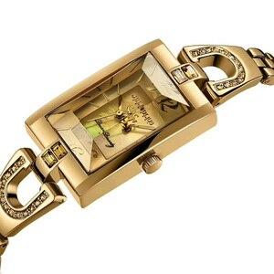 Image 2 - をジュリアスレディース腕時計日本クォーツelegant hoursファインファッションドレスチェーンブレスレットシェル女の子の時計誕生日ギフトボックス