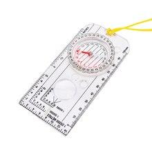 Activing лучшее предложение на открытом воздухе портативная походная линейка лупа для карты заполненный жидкостью компас