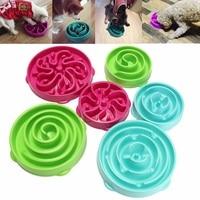 Pet Dog Cat Interactive Slow Food Feeder Bowl Puppy Anti Slip Gulp Feeder Healthy Bloat Dish For Pet Feeding Tools 1Pc 5