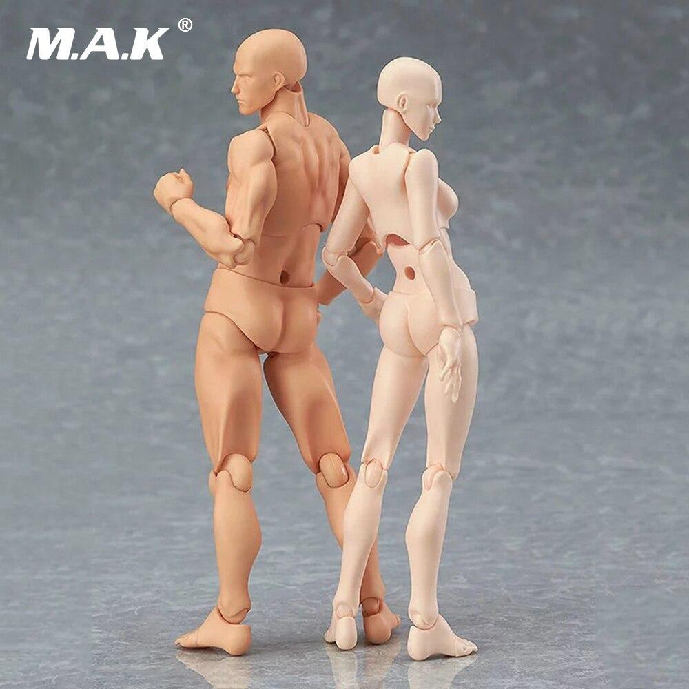 14 см 2.0 молодежное издание Chan/Кун он она ПВХ фигурку кожи Цвет обнаженной мужской женский совместное рисунок коллекции подарок ...