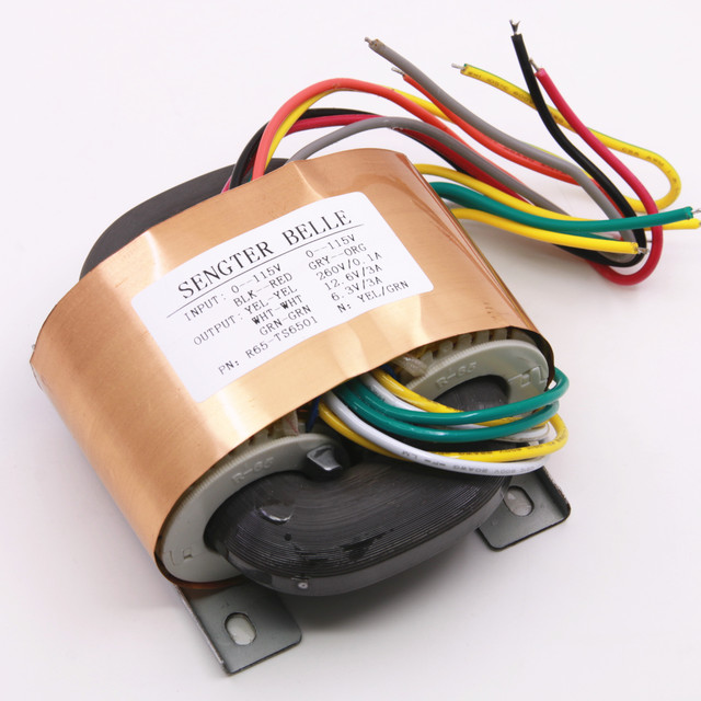 HIFI หลอด Preamplifier หลอด Phono Transformer เอาต์พุต: 0 260V (0.1A), 0 12.6V (3A),0 6.3 V (3A) r ประเภทหม้อแปลงไฟฟ้า