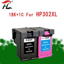 2PK Compatible with HP302XL Ink Cartridge HP302 hp302 For HP Officejet 3830 3831 3833 4650 4654 4657 printer For HP DESKJET 1110 цены онлайн
