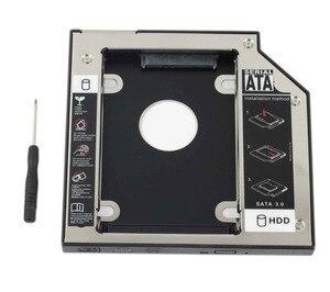 """Image 1 - WZSM חדש 12.7 מ""""מ SATA 2nd SSD HDD Caddy עבור ACER Aspire V3 771G V3 772 V3 772G V3 571G V3 471G קשה דיסק כונן caddy"""