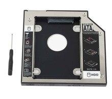 WZSM NOUVEAU 12.7mm SATA 2nd SSD HDD Caddy pour ACER Aspire V3 771G V3 772 V3 772G V3 571G V3 471G Disque Dur Caddy